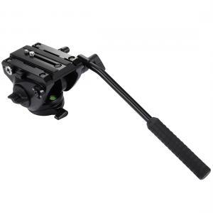 PULUZ Stort videohuvud med vätskedämpningssystem 1/4-tum stativgänga