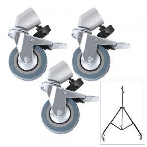 3st Lätta svängbara korshjul för studiostativ