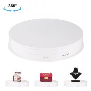 Roterande produktbord diameter 30cm, belastning 5-10 kg (vit) - PULUZ