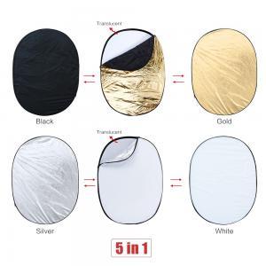 Reflexskärm 5 i 1 oval form
