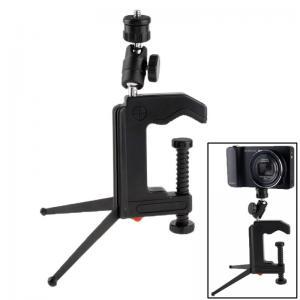 Multifunktionellt klämstativ för mindre kamera