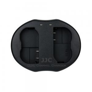 JJC USB-driven dubbel batteriladdare för NIKON EN-EL15, EN-EL15a