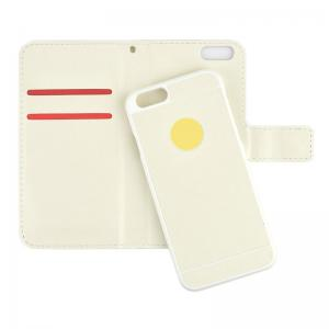Plånboksfodral med avtagbart skal för iPhone 6/6S - Vit