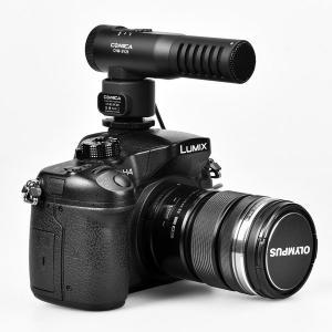 CoMica Stereo kondensator Kameramikrofon