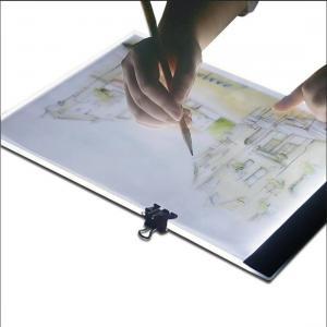 Portabelt Ljusbord A4 med LED-Belysning med väggladdare