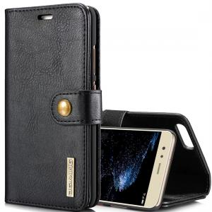 DG.MING för Huawei P10 Plus - Plånboksfodral med magnetskal
