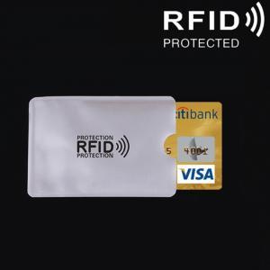RFID Skydd - Korthållare för bank- och kreditkort i aluminium