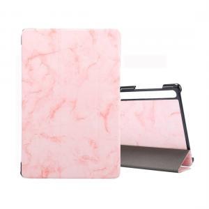 Fodral för Galaxy Tab S6 T860 med rosa marmormönster