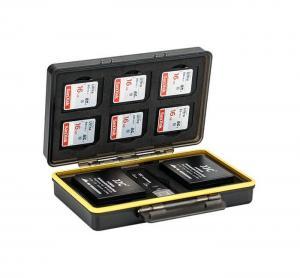 JJC Batteri & minneskortask 6xSD & 2xNP-W126/W126S