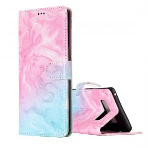 Plånboksfodral för Galaxy Note 8 - Marmormönster rosa & blå