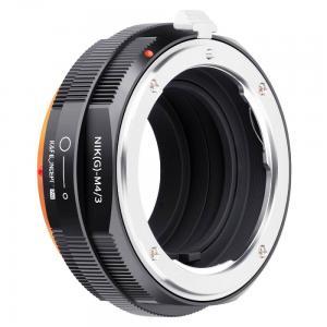 K&F Concept Objektivadapter Pro till Nikon G objektiv för Micro 4/3 kamerahus