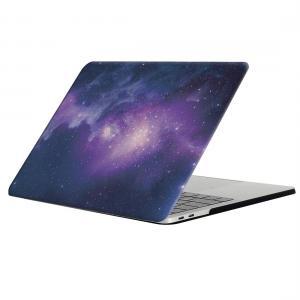 Skal för New Macbook Pro 13.3-tum - Rymdmönster Lila & Blå (A1706/A1708)