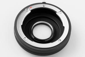 Kiwifotos Objektivadapter till Nikon F Optisk för Sony Alha kamerahus