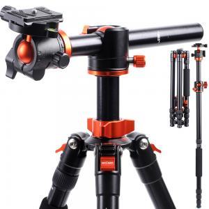 K&F Concept Kamerastativ med kulled & fällbar mittpelare 185cm