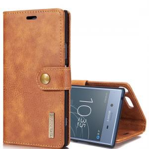 DG.MING Plånboksfodral med magnetskal för Sony Xperia XZ1