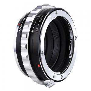 K&F Objektivadapter till Pentax K/M/A/FA/DA objektiv för Fujifilm X kamerahus
