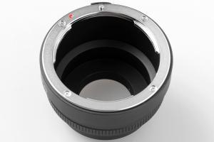 Kiwifotos Objektivadapter till Nikon F för Pentax Q kamerahus