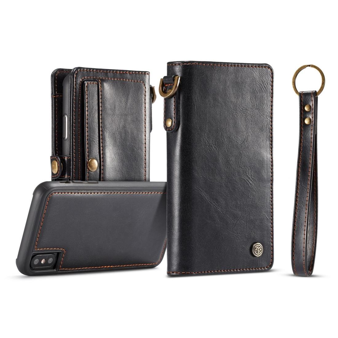 CaseMe för iPhone X - Plånboksfodral med skal PU-läder  0b0904c7eaa18
