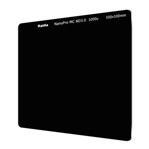 Haida ND-filter med NanoPro-coating optiskt glas (100x100mm)