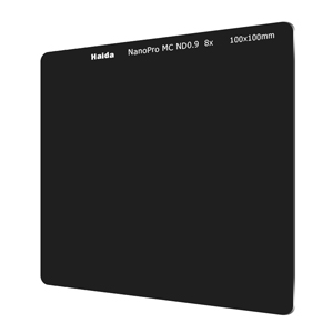 Haida ND-filter med NanoPro-coating optiskt glas (100x100mm)