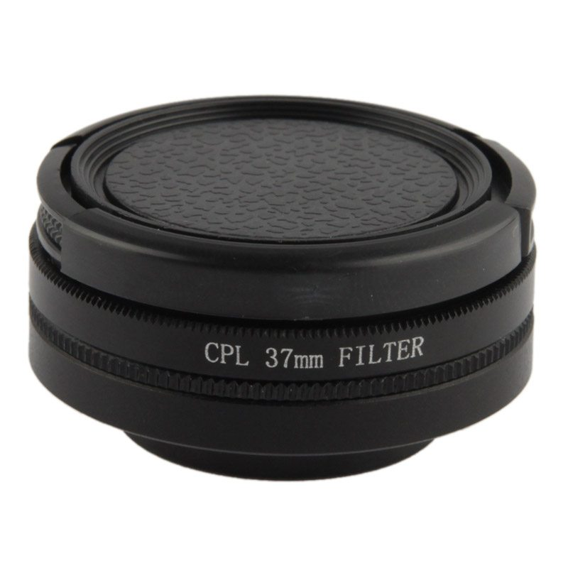 37mm CPL-filter & adapter till för GoPro 3, 3+, 4 (37mm)
