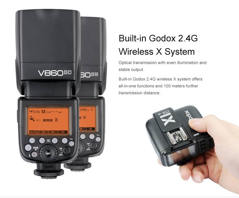 Godox Ving V860IIN Li-Ion Speedlight-Kit
