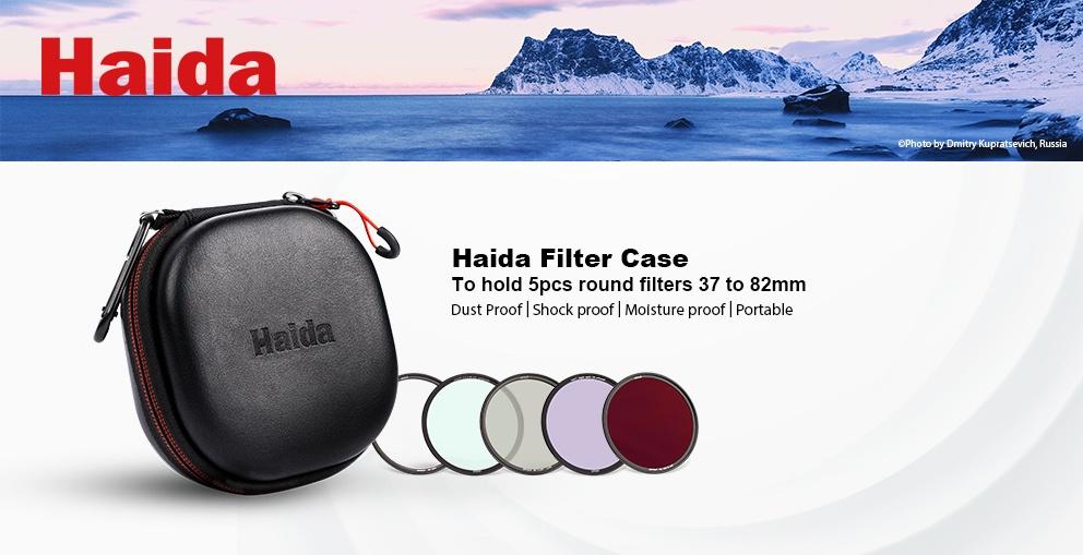 Haida Filterväska för 5 st Kamerafilter Hård modell