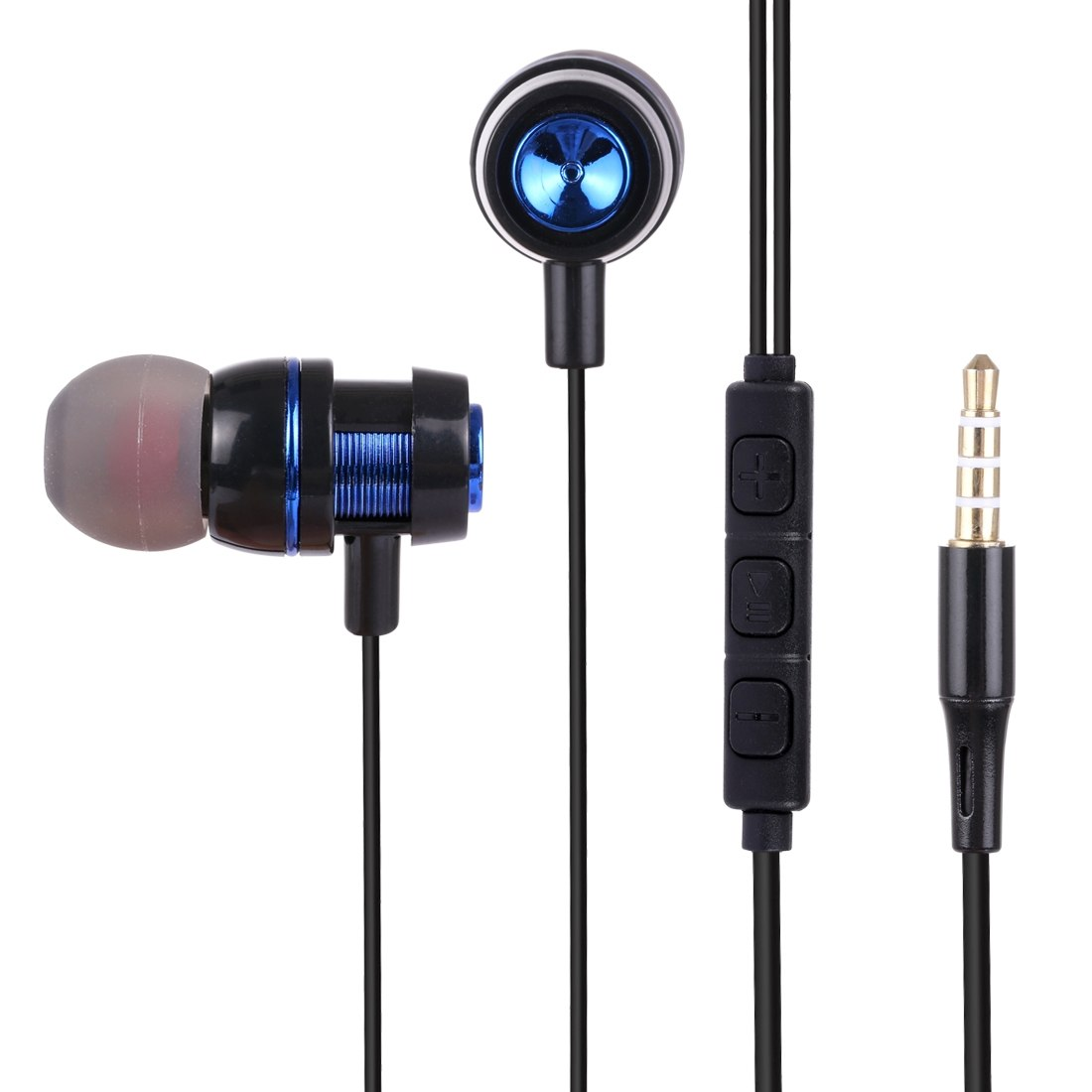 HAWEEL 3,5 mm In-ear hörlurar med Mic