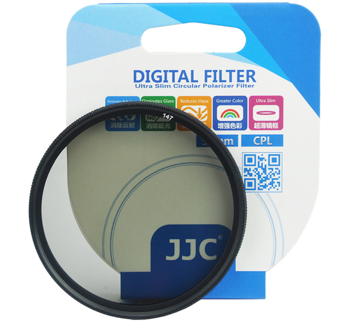 JJC Ultra-Thin Circular Polarizer Filter