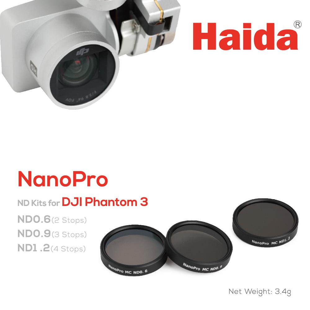Haida NanoPro MC ND Filter kit för DJI Phantom 3