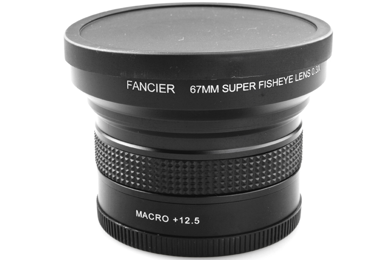 Fancier Fisheye 67mm 0.3x +12.5