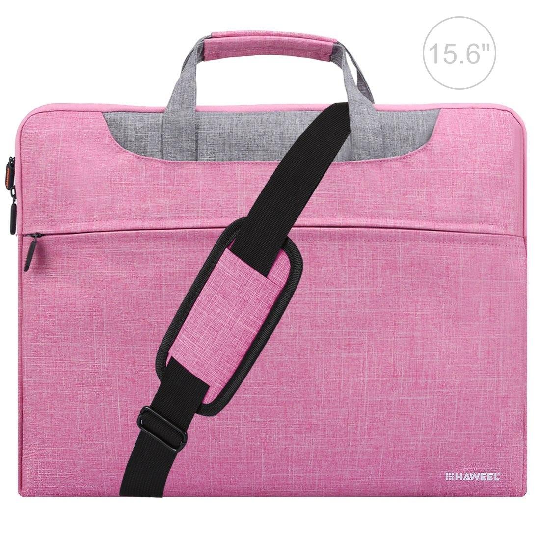 HAWEEL Handhållen laptopväska med axelrem   dragkedja  2c7bec7ab6f1e