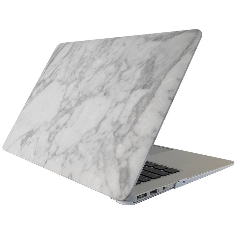 Skal för för Macbook Air 13.3-tum - Marmor vit (A1369/A1466)