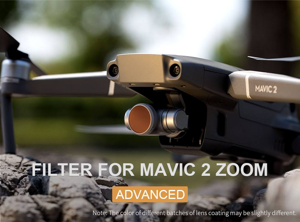 PGYTECH Filter för MAVIC 2 ZOOM HD-ND4 (Advanced)