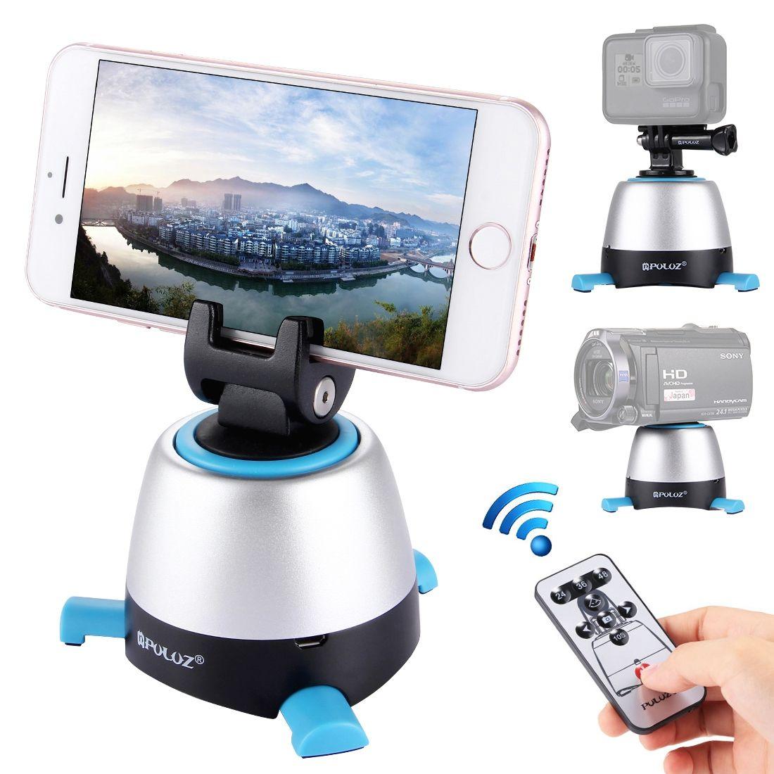 Puluz 360 graders rotationshuvud + fjärr + GoPro-adapter + mobil-adapter 2c6924ff1981b