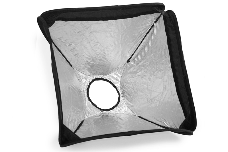 Portabel Softbox - hotshoe blixt
